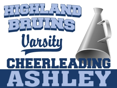 Cheerleading Yard Sign 5