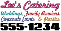 All Purpose Catering Business Banner