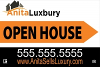 Independent Realtor Double-Sided Open House Panel