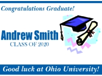 Graduation Yard Sign 4