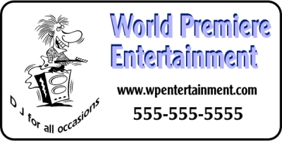 Entertainment Event Banner