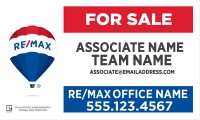 RE/MAX® Horizontal Standard Team Name | Frame Included