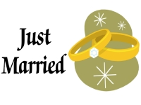 Just Married Yard Sign Template
