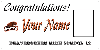 Beavercreek High School Banner Template