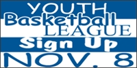 Basketball Youth League Sports Banner