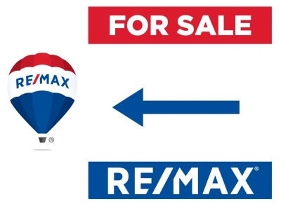 RE/MAX® 2018 Re-branded Directional Signs - For Sale, For Rent or Open House