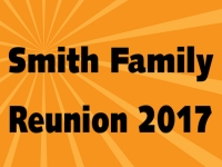 Reunion Yard Sign Template 3