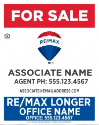 RE/MAX® Vertical Office Prominent Longer Office Name