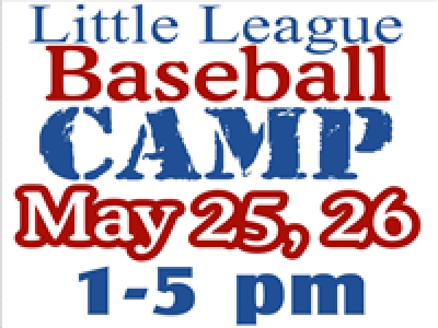 Baseball Camp Yard Sign Template