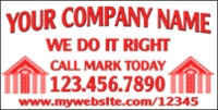 Custom Company Name Business Banner