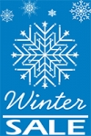 Portrait Window Winter Sale Banner