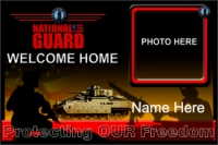 4' x 6' National Guard Welcome Home Banner