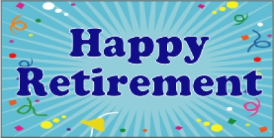 Retirement Banners To Celebrate Varied Sizes Customize
