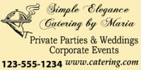 Private & Corporate Catering Service