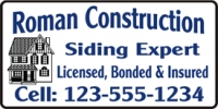 Construction Siding Expert Banner