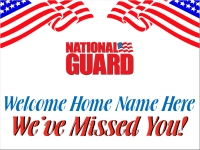 National Guard Welcome
