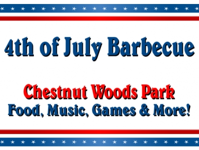 4th of July Holiday Yard Sign #2