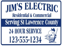 Electrician Sign