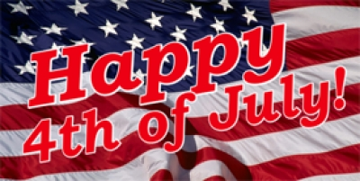 July Fourth Holiday Banner