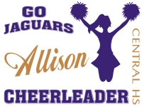 Cheerleading Yard Sign 3