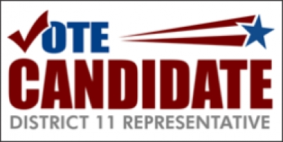 District Representative Political Banner