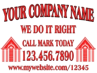 Construction Yard Sign | Your Company Name