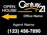 CENTURY 21 Real Estate Sign 18