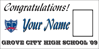 Grove City High School Graduation Template