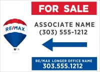 RE/MAX® Lightweight with Associate & Office Name & Number