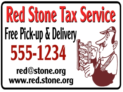Tax Service Business