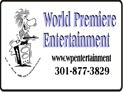 World Premiere Entertainment Yard Sign Template