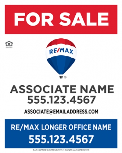 RE/MAX Vertical Standard with Longer Office Name